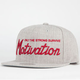 MOTIVATION Solid Script Mens Snapback Hat