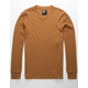 RSQ Grizzly Dark Khaki Mens Crew Thermal
