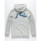 RUSTY Competition Gray Mens Hoodie