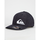 QUICKSILVER Final Flexfit Navy Mens Hat