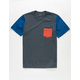 RVCA Ollie Boys Pocket Tee