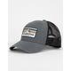 QUICKSILVER Clean Lines Grey Mens Trucker Hat