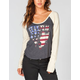 VOLCOM Proud To Be Womens Baseball Tee