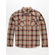 RVCA Hostile Mens Flannel Shirt