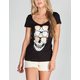 VOLCOM Shady Skullz Womens Tee