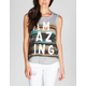 FULL TILT Amazing Watercolor Womens Tee