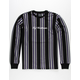 HUF Script Stripe Mens T-Shirt