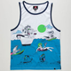 QUIKSILVER Sinking Teeth Mens Tank