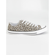 CONVERSE Chuck Taylor All Star Leopard Low Top Shoes