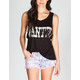 FULL TILT Wanted Womens Muscle Tee