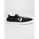 CONVERSE Suede And Leather Net Star Classic Black Shoes