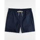 HURLEY One And Only Stretch Navy Mens Volley Shorts