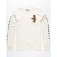 RIOT SOCIETY Aztec Floral Bear Mens T-Shirt