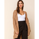 WEST OF MELROSE In The Long Run Cable Knit Womens Maxi Cardigan