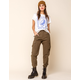 WEST OF MELROSE Roger That Womens Cargo Jogger Pants
