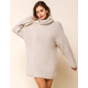 WEST OF MELROSE Keep It Chill Chunky Sweater Dress