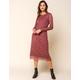 WEST OF MELROSE Petal Talk Mesh Bodycon Midi Dress
