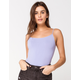 FULL TILT Essential Periwinkle Womens Seamless Cami