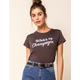 AMUSE SOCIETY Champagne Womens Tee