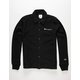 CHAMPION Reverse Weave Mens Black Coaches Jacket