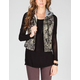 OTHERS FOLLOW MIA Womens Hooded Vest