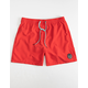 QUIKSILVER Everyday Mens Red Volley Shorts