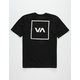 RVCA Box Boys Black T-Shirt