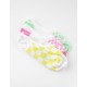 VANS 3 Pack Rainy Day Check Womens Canoodle Socks