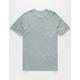 RVCA PTC 2 Pigment Mens Grey Pocket Tee