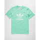 ADIDAS Trefoil Light Green Mens T-Shirt