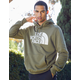 THE NORTH FACE Half Dome Mens Olive Hoodie