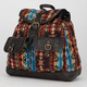 Ethnic Print Backpack
