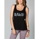 WORKSHOP Rawr Womens Muscle Tank