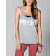 WORKSHOP Meow Womens Muscle Tank