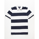 AMERICAN REPUBLIC Rugby Mens White Polo Shirt