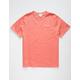 CHAMPION Embroidered Script Logo Mens Salmon T-Shirt