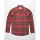 HURLEY Vedder Mens Red Shirt