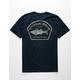 JETTY Striped Bass Mens T-Shirt