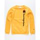 CHAMPION C Gold Boys Sweatshirt
