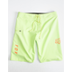 FOX Overhead Mens Lime Boardshorts