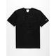 CHAMPION Furry Champion Logo Mens Black T-Shirt