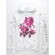 HUF Le Fleur White Mens Hoodie