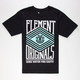 ELEMENT Zig Zag Mens T-Shirt