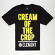 ELEMENT Cream Of The Crop Mens T-Shirt