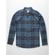 HURLEY Vedder Mens Navy Shirt