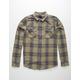 RVCA Reverb Mens Flannel Shirt