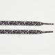 BLUE CROWN Zebra Shoelaces
