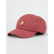 PRIMITIVE Dirty P Sunflower Burgundy Strapback Hat