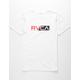 RVCA Lateral RVCA Mens White T-Shirt