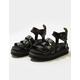 DR. MARTENS Blaire Patent Womens Platform Sandals